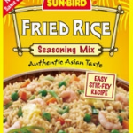 Sun-Bird Fried Rice and a winner