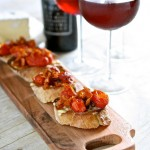 Bacon and Tomato Crostinis & Giveaway
