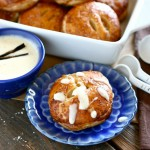 Peach Hand Pies w/ Melted Ice Cream Sauce & Giveaway