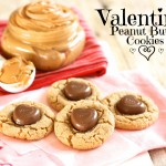 Valentines Peanut Butter Cookies