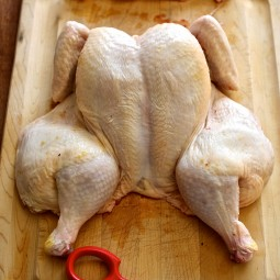 How to butterfly a whole chicken