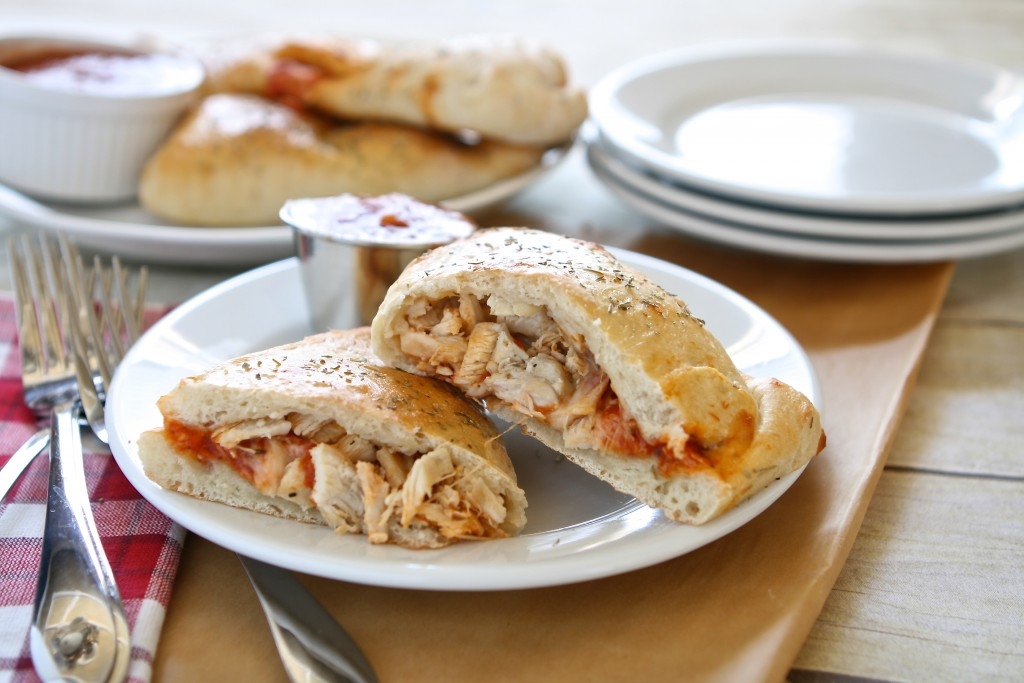 Chicken Pizza Pockets