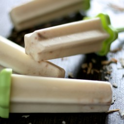 Toasted Coconut Popsicles | The Hungry Housewife