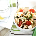 Chicken Caprese Pasta Salad & Giveaway