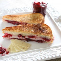 Turkey and Cranberry Grilled Cheese