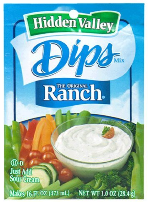 Hidden Valley Dips- Ranch