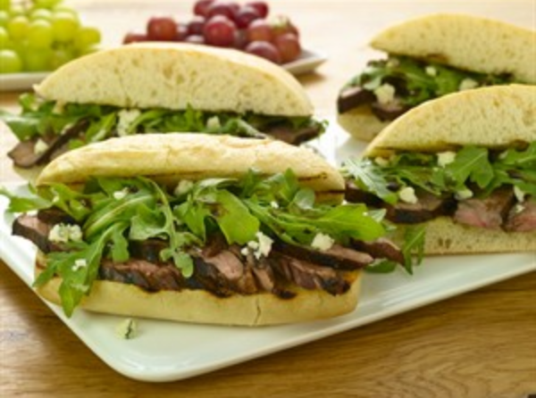 Balsamic & Blue Cheese Steak Sandwich
