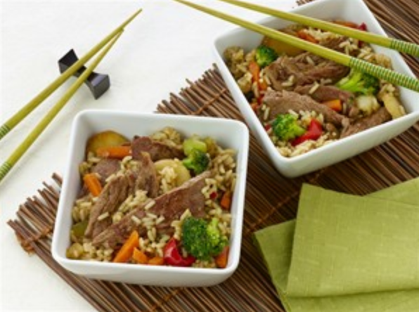 Korean Beef and Vegetable Bowls
