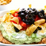 7 Layer Pinto Bean Dip & Giveaway