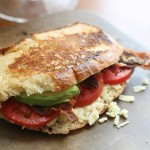 Bacon Avocado & Tomato Grilled Cheese