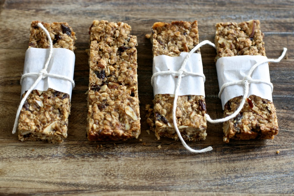 Almond Cherry Energy Bars