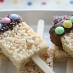 Rice Krispies Dipper Treats