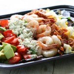 Shrimp Cobb Salad with Creamy Vinaigrette