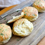 Spicy Cheesy Buttermilk Biscuits