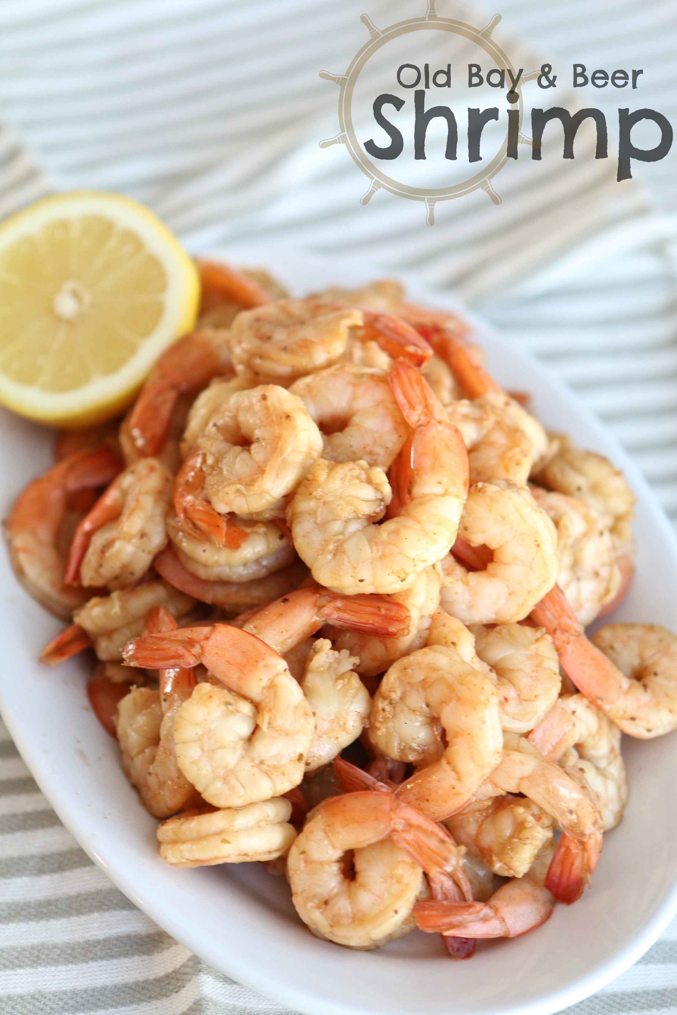 Old bay and beer shrimp