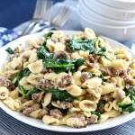 Orecchiette with Sweet Italian Sausage