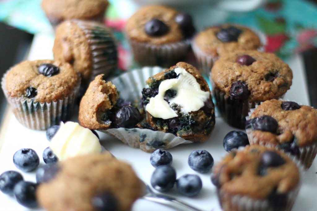 Blueberry Muffin Power Poppers