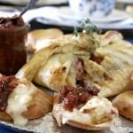 Wrapped Brie with Tomato Chutney